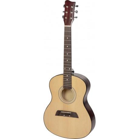 Véritable guitare pour enfant avec son médiator et ses cordes h+e