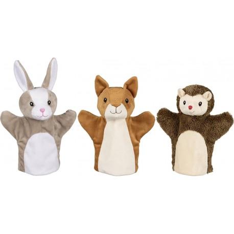 Marionnettes - animaux de la forêt