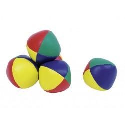 Lot de 4 Balles de jonglage en tissu