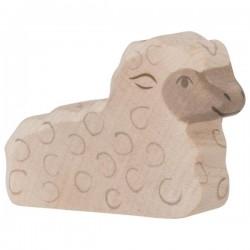 Holztiger - Wooden Lying Lamb