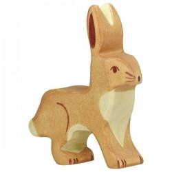 Holztiger - Upright Ears Hare (Lapin Oreilles Levées)