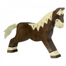 Holztiger - Walking Dark Brown Horse