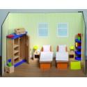Meubles pour maison de poupée - Chambre à coucher