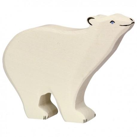 PRECOMMANDE Livraison 05 2021 Holztiger - Ours polaire en Bois