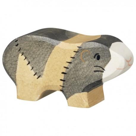 PRECOMMANDE Livraison 12 2021 Holztiger - Cochon d'Inde en Bois