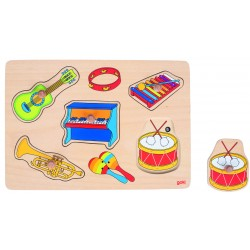 Puzzle Sonore 30 cm - Instruments - GOKI - 1 an