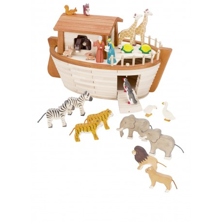 Arche de Noé en bois de haute qualité
