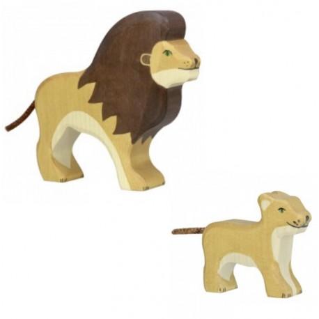 Holztiger - Lot Lions