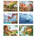 Puzzle de cubes - Dinosaures
