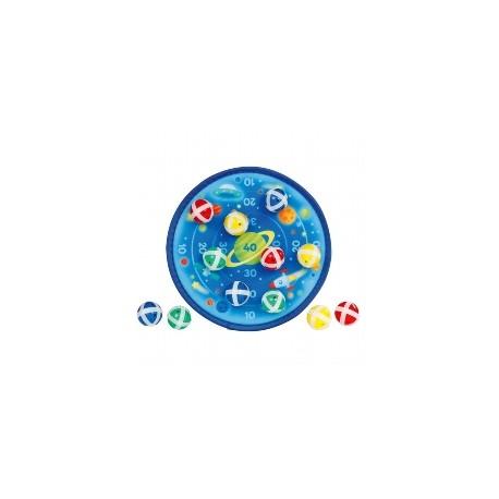 Cible scratch - Théme UNIVERS - 12 balles