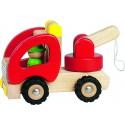 GOKI - Camion Dépanneuse Bois - 2 ans