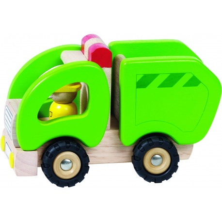 Camion bois - Camion poubelle