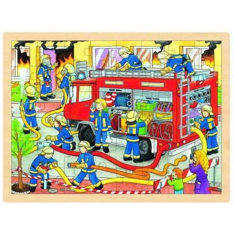 "Puzzle "" Brigade des pompiers"""