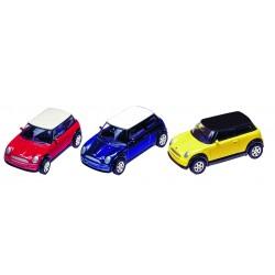 Voiture en métal - Mini Cooper ( Année 2001)