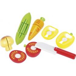 Légumes avec Scratch - Couteau fourni
