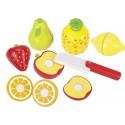 Fruits avec scratch- Couteau fourni