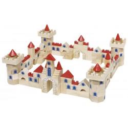 Jeu de construction en bois - Château Fort