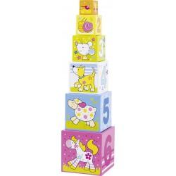DESTOCKAGE - Cubes à empiler