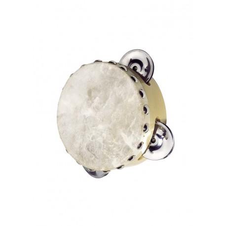 Mini tambourin en peau naturelle