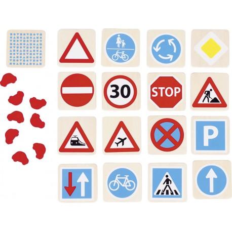 Mémo - Panneaux de signalisation