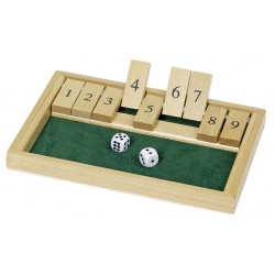 Shut the box - 6 ans
