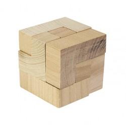 Cube magique en bois