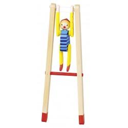GOKI - Clown Gymnaste - 23 cm - 3 ans