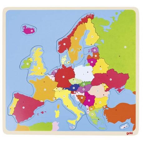 Puzzle en bois - Europe