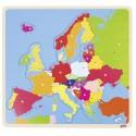 GOKI - Puzzle en bois - Europe par pays - 35 Pièces