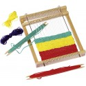 GOKI - Métier à tisser en bois - 6 ans - 22x19x2,5cm