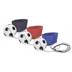 Ballon de foot avec bracelet 6,3cm