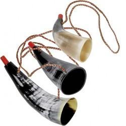 Trompette de Viking - Corne naturelle (12,5 - 17cm)