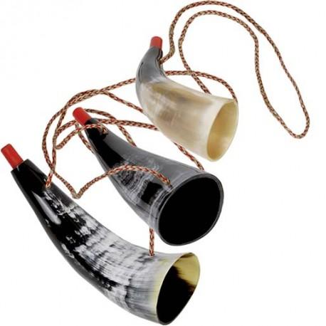 Trompette de Viking - Corne naturelle