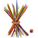 Mikado en bois multicolore 18 cm