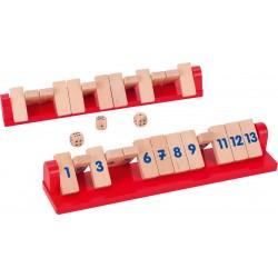 """Shut the box """" Sacré 13"""" - 2 joueurs"""