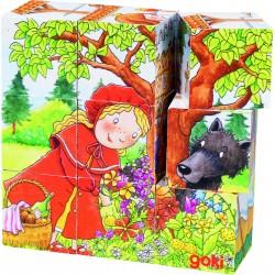 """Puzzle de cubes - """"contes"""" - 9 cubes"""