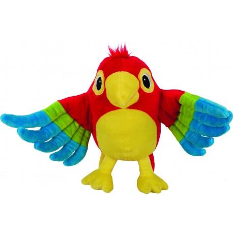 Marionnette Perroquet Pelle