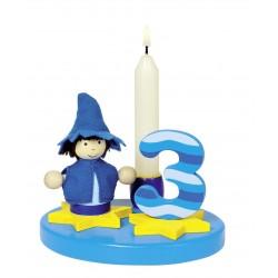 Décoration bougie pour anniversaire garçon