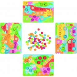 Loto des couleurs - 4 modèles - 95 éléments