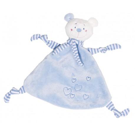 Doudou ours avec coeur