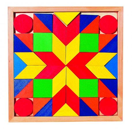 """Jeu en bois """" Mosaique"""""""