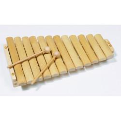 Xylophone en bois L:34,5 cm - GOKI - 3 Ans