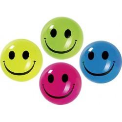 """Balles rebondissantes SMILE """" Brillent dans le noir"""""""
