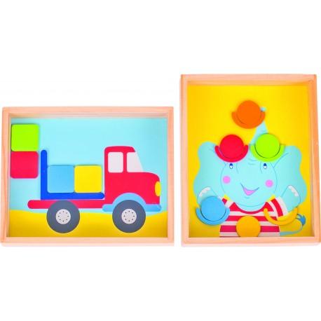 Jeu de patience - Elephant et/ou camion