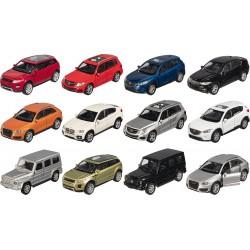 Voitures en métal SUV- Différents modèles au choix