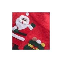 "Sac en tissu ""Surprise""- Père Noel"