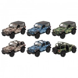 Véhicules en métal - Jeep Wrangler 2018