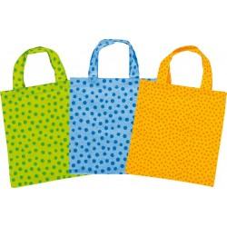 Sacs en coton pour jouer à l'épicier - 3 couleurs disponibles - 3 ans