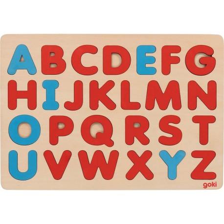 Puzzle Alphabet - Méthode Montessori 30x21cm - dès 3 ans