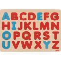 GOKI -Puzzle Alphabet - Méthode Montessori 30x21cm - dès 3 ans